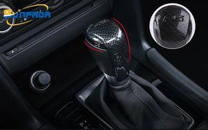 Carbon Fiber / Живопись передач Ручка переключения Украшение автомобилей чехлы для MAZDA 3 6 Axela Atenza CX-4 CX5 CX5 2015 2016 2017 2018 AT Автоаксессуары