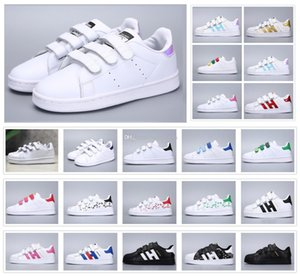 Classic Youth Stan Smith Superstar Kids Girls Child Boys Baby Children Shoes Casual Sport Size 24-35