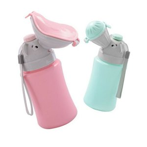 Baby Travel Urinal Pot ABS Kid Portable Urinal Toilet Potty Training Baby Boys Girl Car Travel Supply 500ML