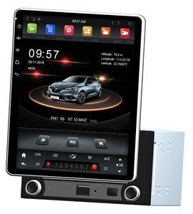 """Dikey Ekran 2 din 9.7 """"Android 7.1 Evrensel Araba dvd Multimedya Kafa Ünitesi Radyo GPS Bluetooth WIFI USB Dönebilen Dokunmatik Ekran 2 GB + 32 GB"""