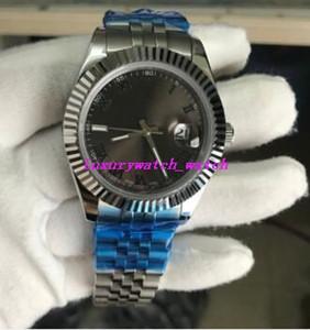 16 estilo preto cinza romen discador 41mm automático 116300 126300 126334 126333 pulseira de aço moda luxo relógios masculinos