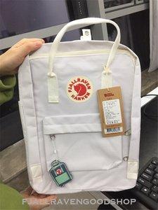 Hot Sale Fjallraven Kanken Classic White Backpacks Double Zipper Canvas Bags 7L 16L 20L Casual Backpacks Fashion Computer Bags On Sale