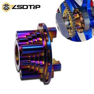 ZSDTRP CNC motocicleta asiento de la rueda dentada de repuestos para LC135