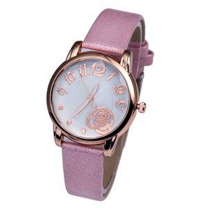패션 레이디 가죽 시계 합금 시계 wholesales.s 여자 '손목 시계 쿼츠 시계 상자