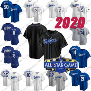 35 Cody Bellinger 2020 Mookie Betts Hernández Turner Pollock Seager Walker Buehler Max Muncy Pederson Smith Clayton Kershaw Martin jerseys