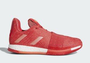 Harden Vol 3 산호 침략자 신발 저렴한 판매 무료 배송 제임스하든 3 농구 신발 드롭 배송 size40 - 46