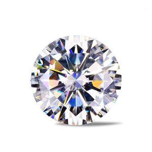Loose Gemstones Moissanite Artificial Diamond D Color 0.5 0.6 30.8 1 Carat Customized K Gold Wedding Ring1