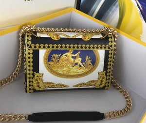 Classic lady Medusa shoulder bag25 high-end custom quality diagonal cross bag fashion style gold metal accessories with long shoulder str