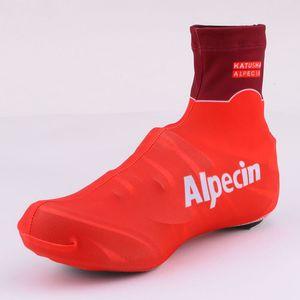 2019 KATUSHA TEAM Alpecin PRO 2 COLORI Ciclismo coperchio slitta BICICLETTA Shoecovers SIZE: S-XXL
