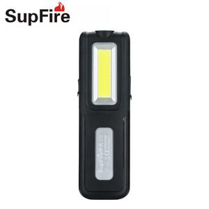 Cob Linterna Lanterna LED Luz de trabajo portátil Mantenimiento de vehículos Camping Linterna Supfire G12 Luz de destello de mano