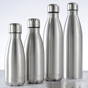 Sport Bottiglia Single Layer Cola Bottle Necessities giornaliere in acciaio inox Cola Bottle Water Sports Bottiglie di sport EEA1385-6