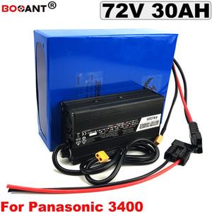 72V 30AH e-bicicleta de lítio bateria 72V para 1500W 2000W 3000W Bateria de bicicleta elétrica 72V com 5a carregador frete grátis