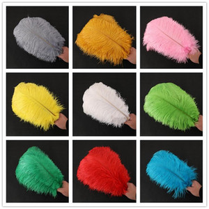 Diy Ostrich Feathers Plumes Craft Supplies For Wedding Centerpiece Wedding Party Event Decor Festive Decoration 14 Colours RRA2610