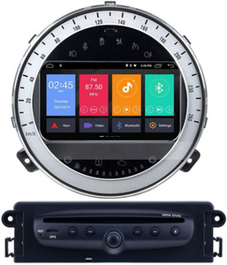 Android 9.0 GPS voiture Lecteur DVD pour BMW Mini Cooper 2006-2013 avec Radio Bluetooth USB 1080P vidéo