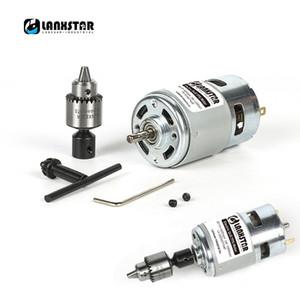 Nouveau impressionnant 775 Drill couple élevé main moteur Grinder roulement à billes micromoteur forets Joaillier PCB Presse Drill