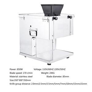 2mm-20mm elektrische Handelsfrischfleisch Hühnerbrust Cutter Slicer-Bearbeitungsmaschine Edelstahl Fleischschneider Maschine zum Verkauf