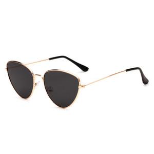 8 Farben Retro Metall Sonnenbrillen europäische und amerikanische Damen und Herren UV400 Sonnenbrillen Neuer Trend Sonnenbrillen Großhandel