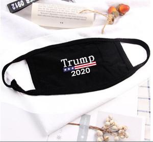 Top vendedor lavável máscara reutilizável donald trump 2020 eleição rosto máscara máscara anti-poeira máscara engraçado algodão mulher mulher homens unisex