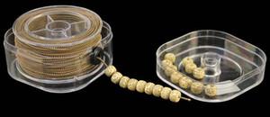 20style Perles élastiques Rosewood Bracelet corde bijoux résistant à l'abrasion Les résultats de base de fil perlé Rubber Band Bracelet Ligne D061