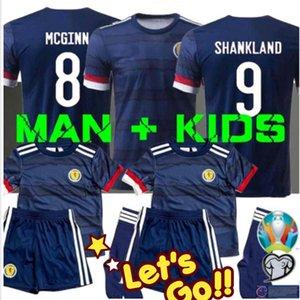 MAN + KIDS 2020 Escocia camiseta de fútbol Uniforme 19 20 Escocia camisa ROBERTSON FRASER Naismith MCGREGOR CHRISTIE FORREST McGinn Fútbol