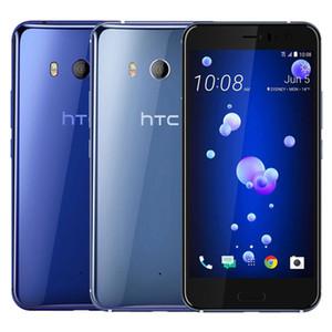 Remis à neuf d'origine HTC U11 5,5 pouces Snapdragon 835 Octa base de 4 Go / 6 Go RAM 64 Go / 128 Go ROM 12MP + 16MP débloqué 4G LTE Android Phone DHL 1pcs