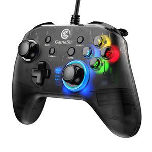 GameSir T4w USB проводной контроллер подключения поддержка вибрации USB проводной Gameming геймпад для Windows (7/8/9/10) ПК