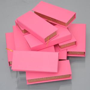 스트립을 사용자 정의 개인 로고 가짜 밍크 속눈썹 포장 도매 속눈썹 포장 상자 속눈썹 박스는 자기 빈 케이스 공급 업체 직사각형