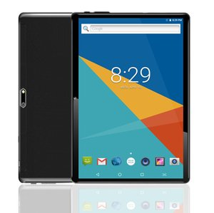"Android Tablet | 10 compresse PC 10.1"" pollici, HD, 3G, WiFi, GPS, GSM, Octa core, 64 GB ROM, 4GB di RAM, doppia di Sim, 1920 * 1200 IPS, Nero"