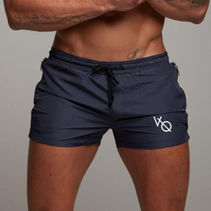 2019 Verão Designer Swimwear Swimwear Men's Swimwear Swim Trunks Designer Shorts Masculino Bodybuilding Fitness Beach Shorts Marca Roupa