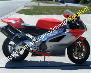 RSV1000R carenado para Aprilia RSV1000 2003 2004 2005 2006 RSV 1000 03 04 05 06 SportBike ABS ABS ABSTARMARIO KIT DE MOTOS DE MOTOS SOLADO ROJO