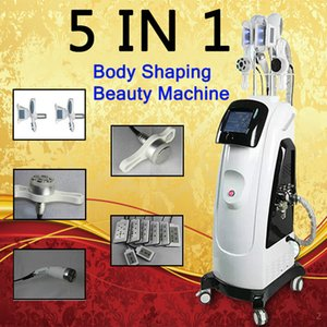 2020 mais novo Fat máquina de congelação Com dupla perda fresco Sculpting Cryo lipólise + Lipo Laser + cavitação + RF Peso emagrecimento máquina para Spa