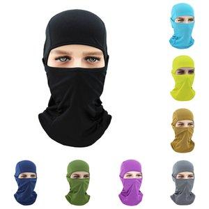2020 Summer Breathable CS Full Face Mask Motorcycle Helmet Mouth Cover Outdoor Biking Ski Eye Open Protective Headgear Sun-protection