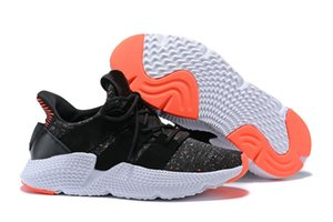 Высокое качество оригиналы Prophere Climacool EQT 4s четыре поколения неуклюжий обувь спортивные кроссовки черный Повседневная обувь размер 40-45new