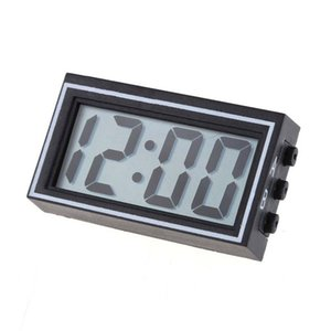 FashionMini Digital LCD Auto Car Truck Dashboard Date Time Calendar Clock Black