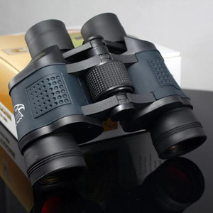 Gli ultimi modelli Alto ingrandimento 60x60 telescopio impermeabile binocolo visione notturna ad alta potenza di caccia pellicola rossa lontano specchio con COORDINA