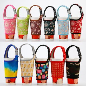 Bottle Storage Holder Milk Tea Coffee Hand Drinks Cloth Cover With Braces Anti Scald Neoprene Cup Sleeve Creative wcw588