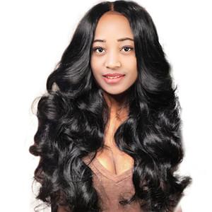 Леди челка парики Высокотемпературный шелковый длинный вьющиеся волосы парик