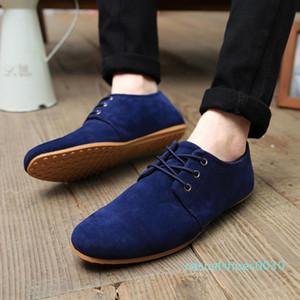MRCAVE Süet Erkek Denim Dantel-up Erkekler Casual Ayakkabı Yeni 2020 plimsolls Nefes Erkek Ayakkabı İlkbahar Sonbahar Ayakkabı C30 Ayakkabı