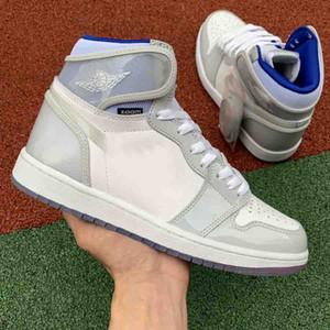 El nuevo diseñador de moda para hombre de baloncesto de las mujeres de lujo de zapatos hombres entrenadores para mujer White Star zapatillas de deporte corrientes zoom tamaño mocasines deportivos 5-12