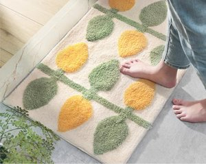 Modern home treeflocking door mat home entrance porch non-slip mat bathroom entrance water-absorbing foot pad,cheap price