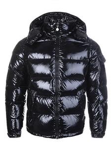 Высокое качество новых женщин вскользь вниз куртка вниз пальто мужские на открытом воздухе Теплый перо Человек Зимние пальто верхней одежды куртки ветровки бесплатная доставка