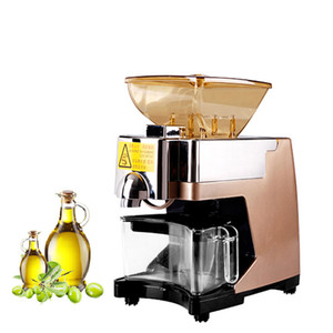 Máquina automática BEIJAMEI Prensas de aceite Aceite caliente Cold Press Aceite expulsor Máquina Inicio Comercial de cacahuete Aceite de Nuez Extractor