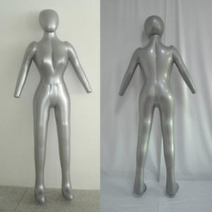 Moda sexy roupas Infláveis Corpo Inteiro Modelo Feminino com Braço Ladies Mannequin Window Display Props Frete grátis, M00358