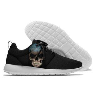 Running Shoes Lace Up Sapatos de desporto comandtable Estónia Emblema Andando peso leve Atlético
