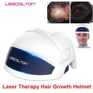 Nouveau upgrate Laser Therapy repousse des cheveux casque laser 650nm traitement médical diodes croissance rapide Anti Perte De Cheveux Cap repousse des cheveux machine