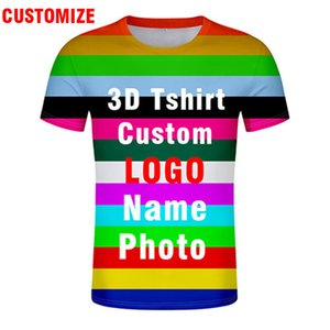 3D tshirt free custom made name number logo text photo t-shirt nation flag country college img team whole body all print clothes Y200601