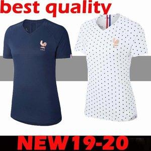 2019 mulheres France Mbappé GRIEZMANN Pogba Futebol Marinha do jérsei do futebol Lemar camisas Equipe coupe 2.018 menina kit maillot de pé