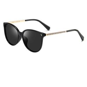 2019 populares gafas de sol para niños nueva moda gafas de sol polarizadas retro marca de diseñador para mujeres niñas ojos de gato gafas de sol enviar caja