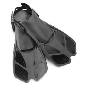 Aletas de natación Aletas flotantes de entrenamiento Aletas de natación con talón ajustable para nadar Bucear Bucear Deportes acuáticos
