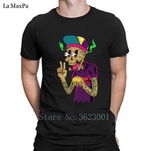 Novità creativa T Shirt Basic Solid Dope T-shirt da uomo confortevole camicia Umorismo Mens Tshirt O Collo Tee fitness